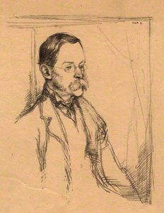 William Rothenstein - Sir frederick pollock