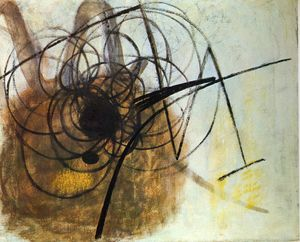 Hans Heinrich Hartung - Untitled (914)