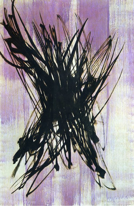 Untitled (683) von Hans Heinrich Hartung (1904-1989, Germany) | WahooArt.com