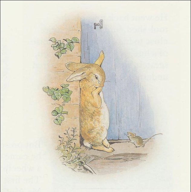 Peter Rabbit 23a - (11x11) von Beatrix Potter (1866-1943)