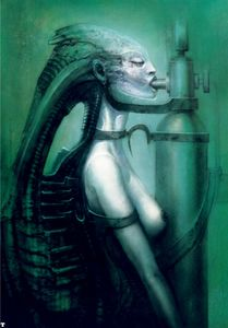 H.R. Giger - HR Giger Biomechanoid - (75)