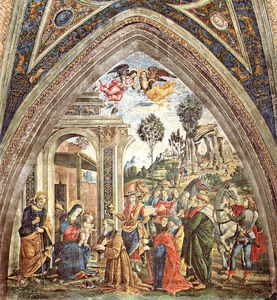 Pinturicchio - Untitled (824)