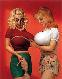 John Currin - Bra-Shop