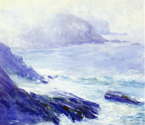 Guy Rose - Küstenlandschaft