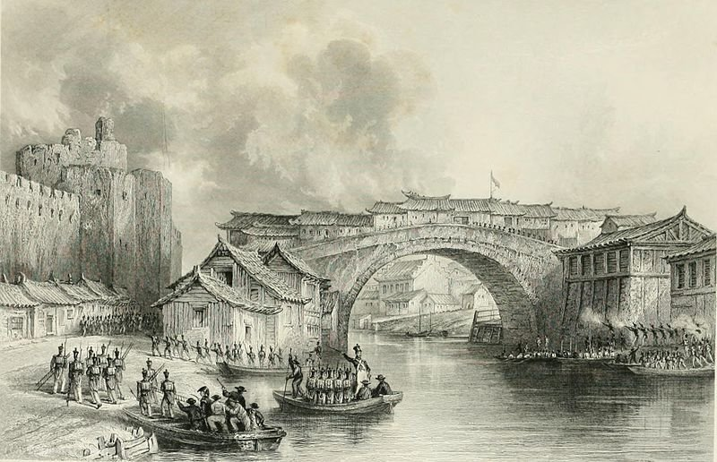 West Gate von Ching-Keang-Foo von Thomas Allom (1804-1872, United Kingdom)