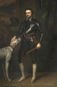 Abraham Van Diepenbeeck - Thomas Wentworth, Graf von Strafford, MP, Lord Lieutenant of Ireland