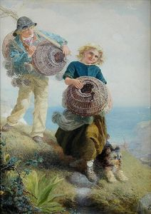Alfred Downing Fripp - Die jungen shrimpers