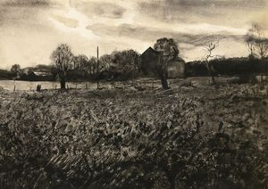 Andrew Wyeth - Pennsylvania-Landschaft (vom Studio)