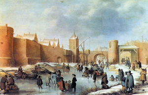 Barend Avercamp (Barend Petersz) - Winterlandschaften