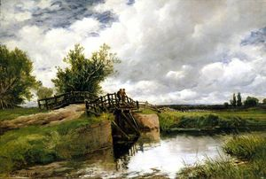 Edmund Morison Wimperis - Black Bridge auf dem Ouse