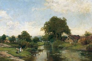 Edward Henry Holder - Landschaft