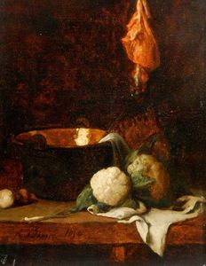 François Bonvin - Nature morte