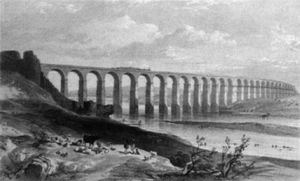 George Hawkins - Royal Border Bridge über den Tweed in Berwick