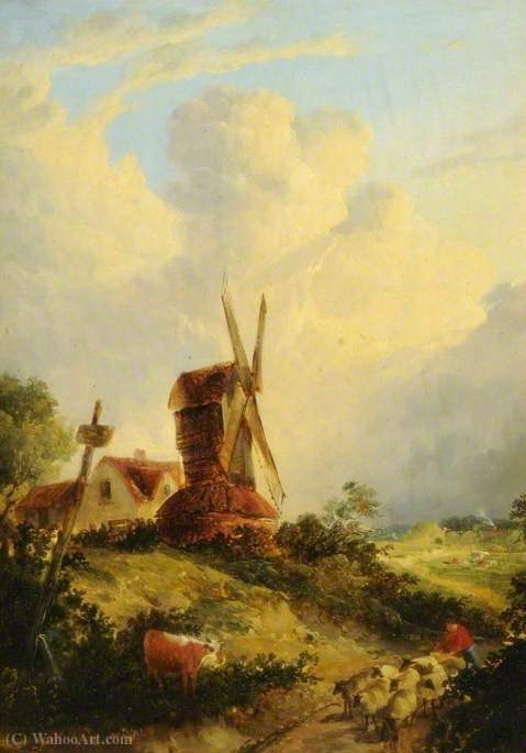 A Norfolk Mühle von George Vincent (1796-1831, United Kingdom)