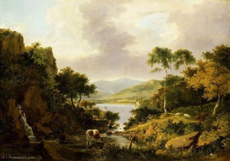 Loch Etive, Argyllshire von George Vincent (1796-1831, United Kingdom)