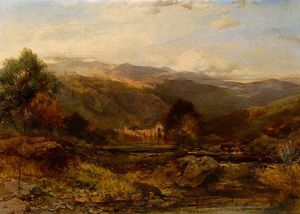 Henry Bright - Tintern Abbey