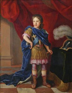 Jacques Van Schuppen - James Francis Edward Stuart, 'The Old Pretender' (1688-1766), als Prinz von Wales