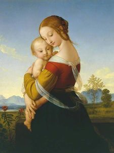 William Dyce - Madonna und Kind