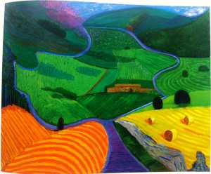 David Hockney - Norden yorkshire
