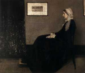James Abbott Mcneill Whistler - die Mutter des Künstlers