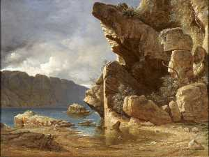 James Francis Danby - Liensfiord , Norwegen