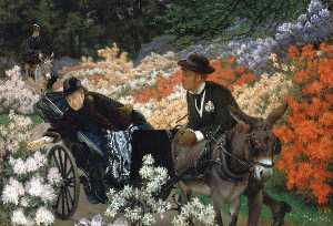 James Jacques Joseph Tissot - Der Morning Ride