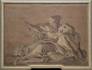 Giandomenico Tiepolo - Europas