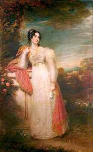 William Beechey - Elisabeth , Dame Buxton , geb. Cholmeley
