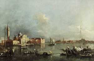 Francesco Lazzaro Guardi - ansicht von venedig