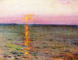William Blair Bruce - meer Sonnenuntergang