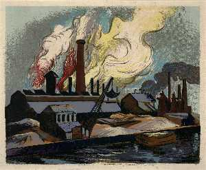Harry Gottlieb - Industrieanlage