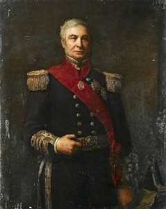 Walter William Ouless - admiral sir alexander milne ( 1808–1896 )