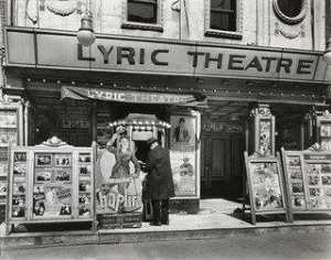Berenice Abbott - lyrisches theater , 100 Dritte Allee , Manhattan