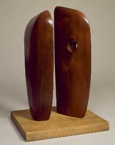 Dame Barbara Hepworth - formen in Staffelung