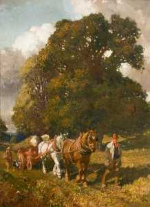 Alfred James Munnings - die holz Kieme