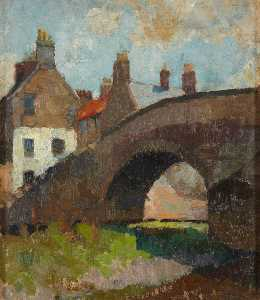 William George Gillies - Nungieren Brücke , Haddington