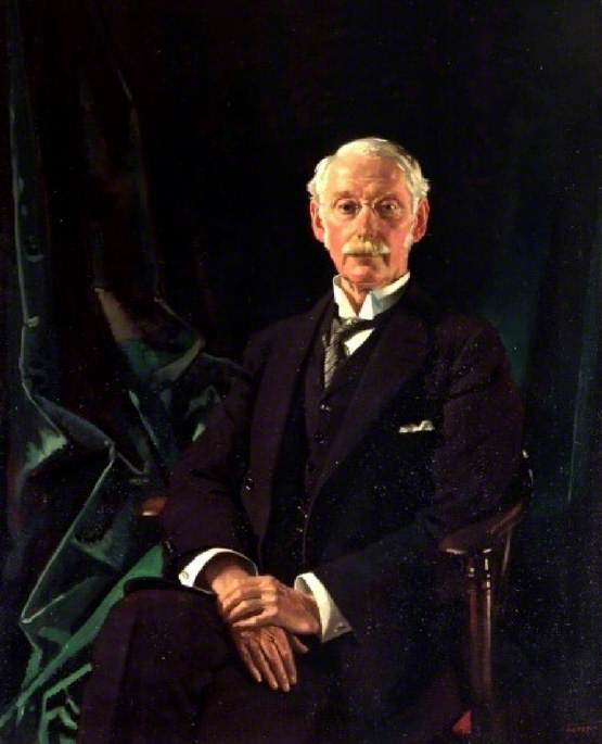 sir charles parsons 1854–1931  , 1910 von William Newenham Montague Orpen (1878-1931, Ireland) | WahooArt.com
