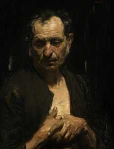 William Newenham Montague Orpen - a heiliger von  der  arm