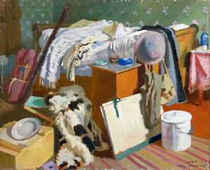 William Newenham Montague Orpen - meine arbeit Gelass  Kassel