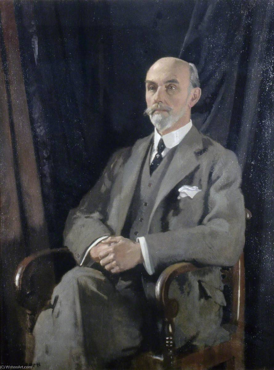 sir charles thomas stanford, 1913 von William Newenham Montague Orpen (1878-1931, Ireland) | Kunstdrucke Auf Leinwand | WahooArt.com