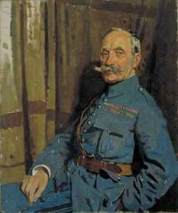 William Newenham Montague Orpen - marschall ferdinand foch ( 1851–1929 ) , OM