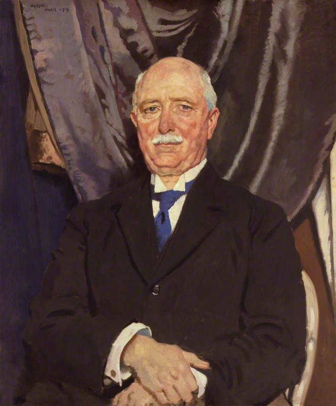 Wilhelm massey ferguson , öl auf leinwand von William Newenham Montague Orpen (1878-1931, Ireland)