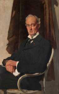 William Newenham Montague Orpen - herr riddell