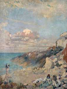 William Newenham Montague Orpen - Landschaft ein