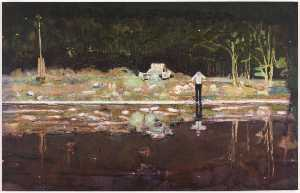 Peter Doig - Echo-see