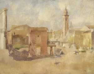 William Menzies Coldstream - Rimini , Italien