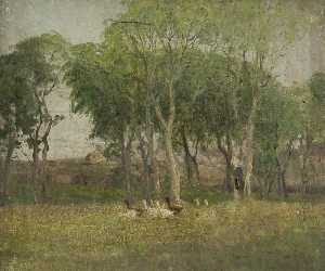 William Hoggatt - enten an  Ein  feld