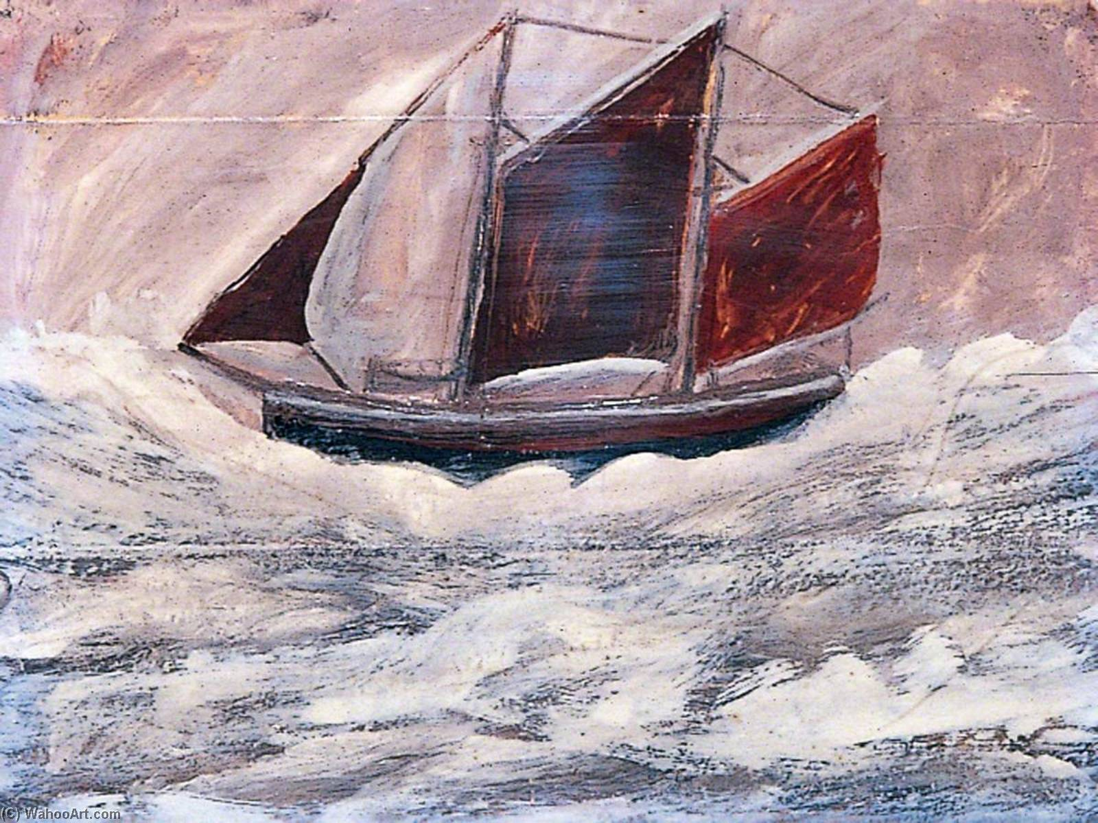 boot, 1994 von Alfred Wallis (1855-1942, United Kingdom) | WahooArt.com