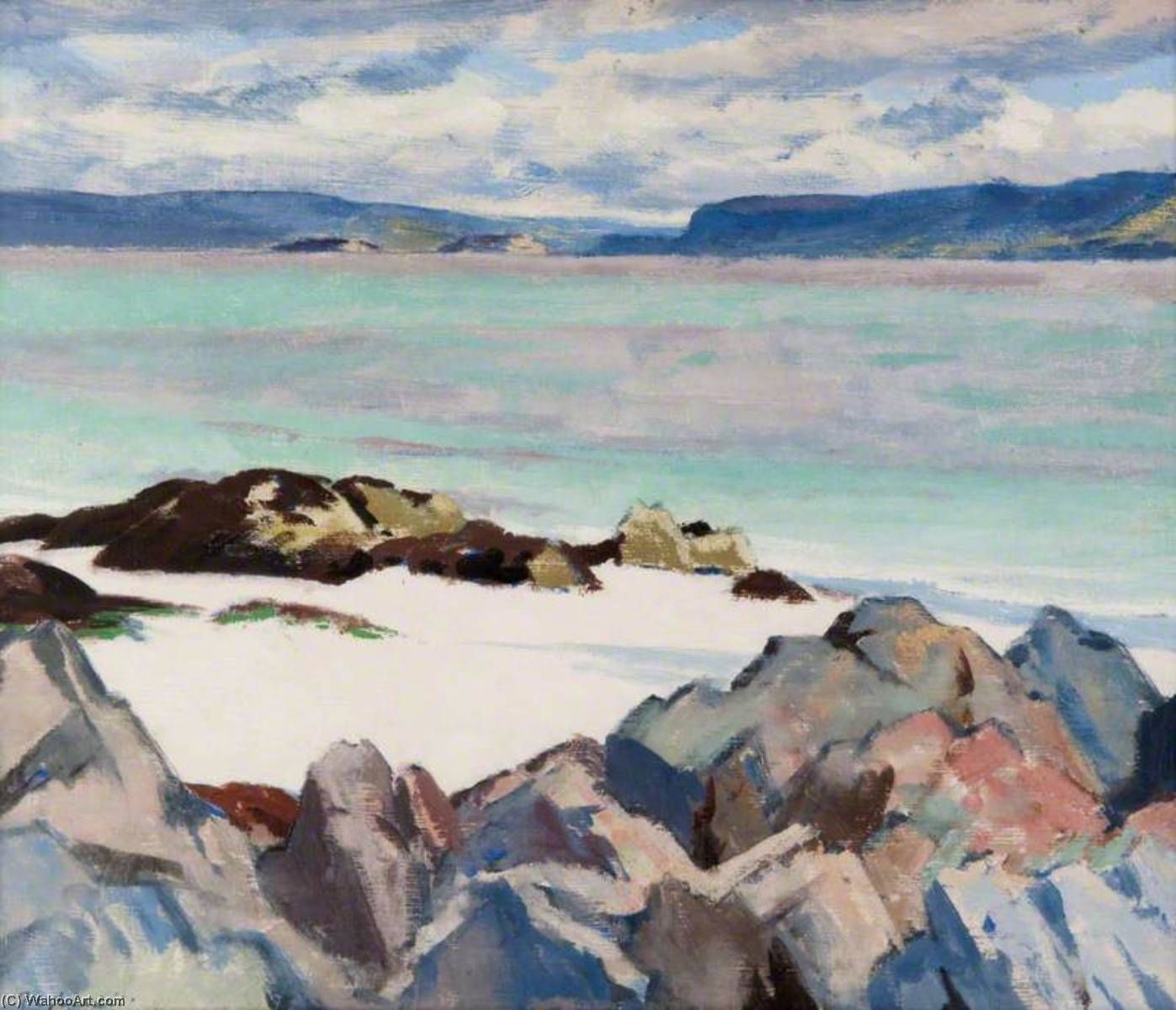 See n / a Keal, 1923 von Francis Campbell Boileau Cadell (1883-1937) | Museum Qualität Reproduktionen | WahooArt.com