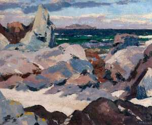 Francis Campbell Boileau Cadell - Lunga von iona